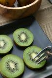 Fette del Kiwi Immagini Stock