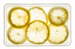 Fette del limone Immagine Stock Libera da Diritti