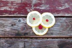 Fette del limone Fotografie Stock Libere da Diritti