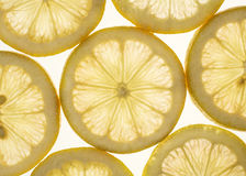 Fette del limone Immagini Stock