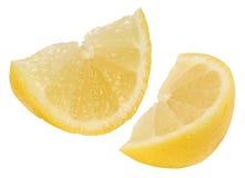 Fette del limone fotografia stock libera da diritti