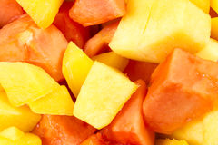 Fette del mango Immagini Stock