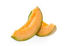 Fette del melone del cantalupo immagine stock libera da diritti