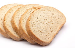 Fette del pane Immagini Stock Libere da Diritti