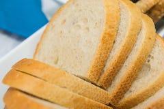 Fette del pane Immagine Stock