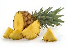 Fette dell'ananas Fotografia Stock Libera da Diritti