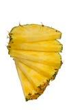 Fette dell'ananas Fotografia Stock