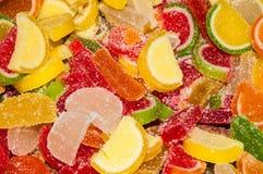 Fette dell'arancia e del limone di marmellata d'arance Fotografia Stock Libera da Diritti