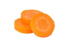 Fette della carota Immagine Stock Libera da Diritti