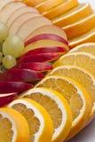 Fette della frutta Fotografie Stock