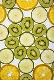 Fette della frutta. fotografia stock