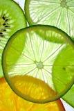 Fette della frutta Immagini Stock