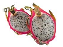 Fette della frutta del drago Immagini Stock Libere da Diritti
