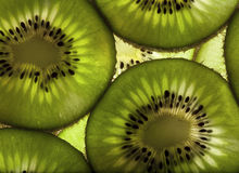 Fette della frutta di Kiwi Immagini Stock Libere da Diritti