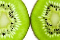 Fette della frutta di Kiwi Fotografie Stock