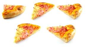 Fette della pizza Immagine Stock Libera da Diritti
