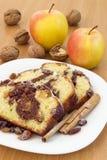 Fette della torta Fotografie Stock