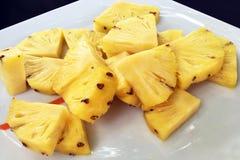 Fette di ananas Fotografie Stock Libere da Diritti