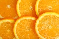 Fette di arancio Fotografie Stock