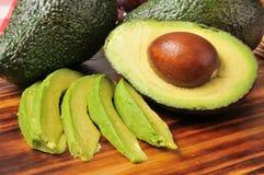 Fette di avocado Fotografia Stock Libera da Diritti