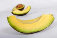 Fette di avocado Fotografia Stock