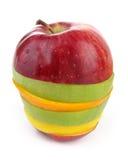 Fette di frutta Fotografia Stock