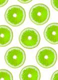 Fette di frutta verde fotografia stock