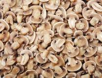 Fette di funghi. fotografie stock libere da diritti