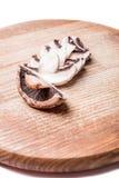 Fette di fungo prataiolo Immagini Stock