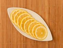 Fette di limone Fotografia Stock