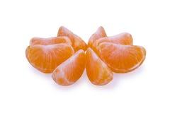Fette di mandarino Immagine Stock