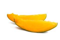 fette di mango maturo Fotografia Stock