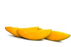 fette di mango maturo Fotografie Stock