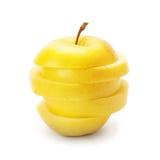 Fette di mela matura Immagine Stock