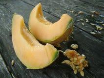 Fette di melone Immagine Stock Libera da Diritti