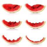 Fette di melone, collage fotografia stock