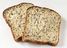 Fette di pane Immagini Stock