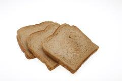Fette di pane per pane tostato Fotografia Stock Libera da Diritti