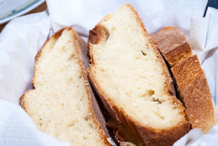 Fette di pane siciliano Immagini Stock Libere da Diritti