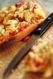 Fette di pizza Fotografia Stock Libera da Diritti