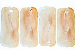 Fette di prosciutto di Parma Immagini Stock