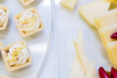 Aperitivo del formaggio Fotografia Stock