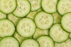 Fette fresche del cetriolo Immagine Stock