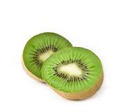 Fette fresche del kiwi Fotografie Stock