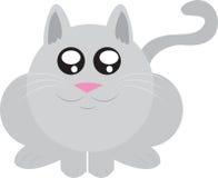 Fette Katze vektor abbildung