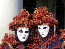 Fetter Dienstag, Karneval, Venedig Lizenzfreies Stockbild