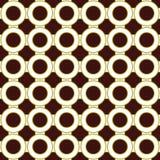 Fettes Retro- nahtloses wiederholendes Muster Lizenzfreie Stockfotografie