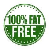 100% fettfreier Schmutzstempel Stockbild
