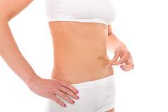Fetthaltiger Bauch? Lizenzfreies Stockfoto