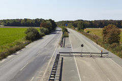 Fettkohle - früher Autobahn A4 nahe Kerpen-Buir Stockfotos